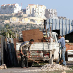 Palestinian workers in Israeli settlements