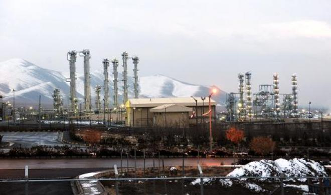Impianto di Arak, Iran,  © Hamid Foroutan - ISNA/AFP/File
