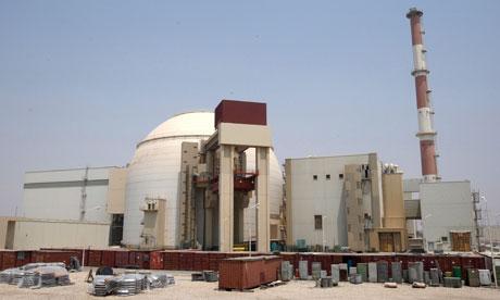 Impianto nucleare a Bushehr (Foto: Abedin Taherkenareh/EPA)