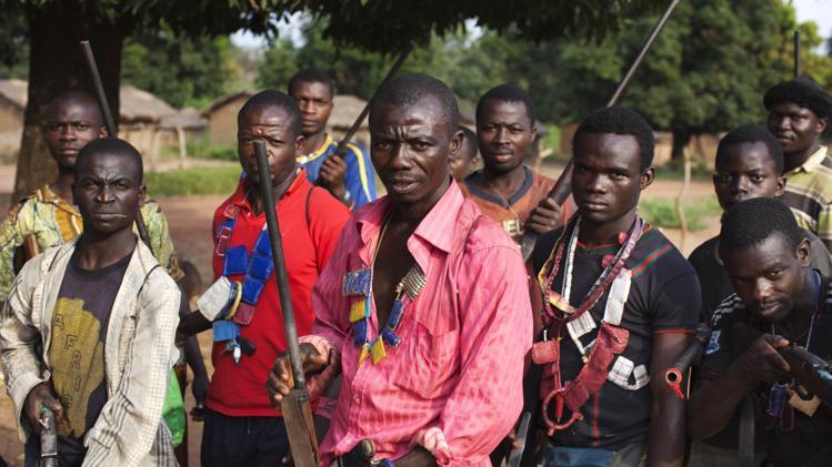 Membri delle milizie anti-balaka