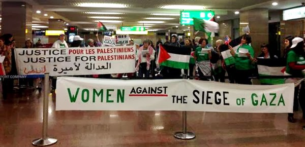 Code Pink detained at Cairo Airport