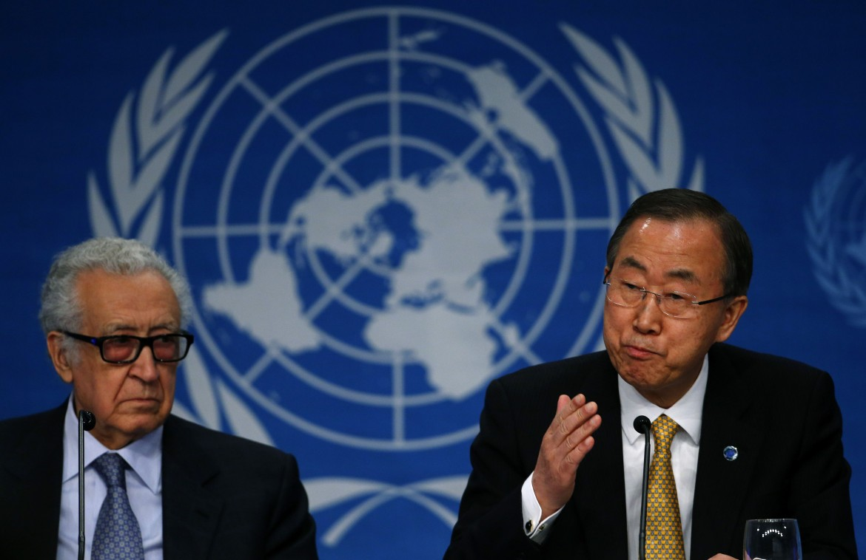 Lakhdar Brahimi, Ban Ki Moon