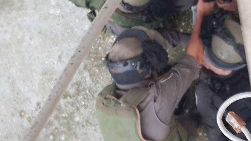 Un soldato israeliano ferito