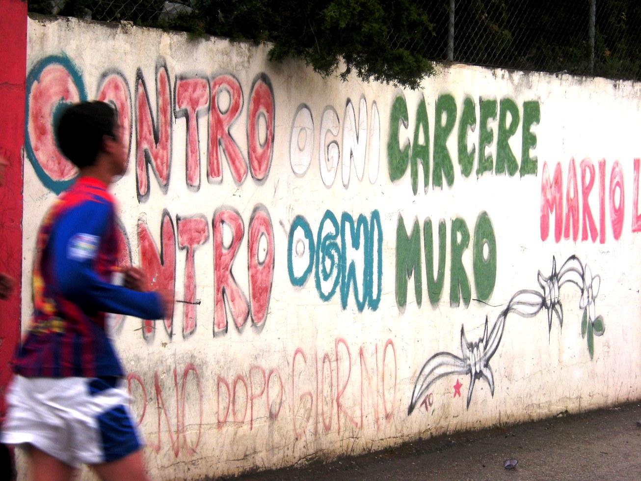La maratona del 2013 nel campo di Aida (Foto: Chiara Cruciati/Nena News)