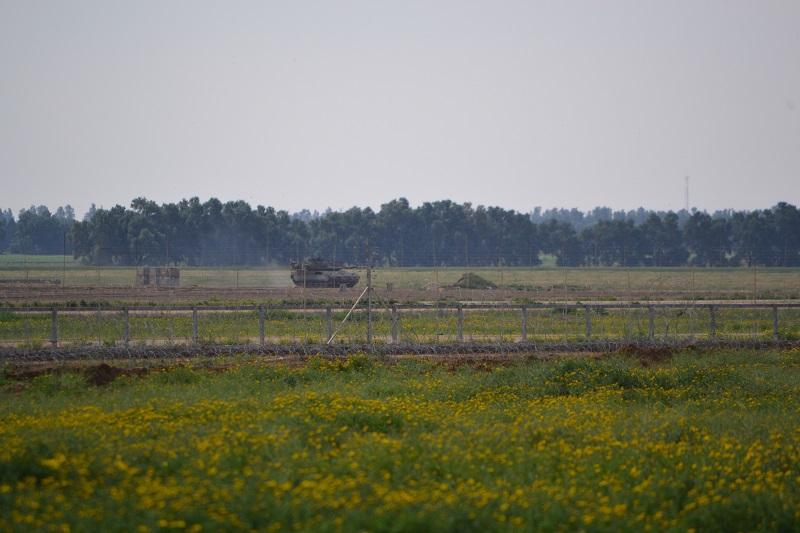 Striscia di Gaza, buffer zone (foto: Rosa Schiano)