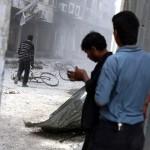 SIRIA, morti e feriti in pesanti bombardamenti aerei