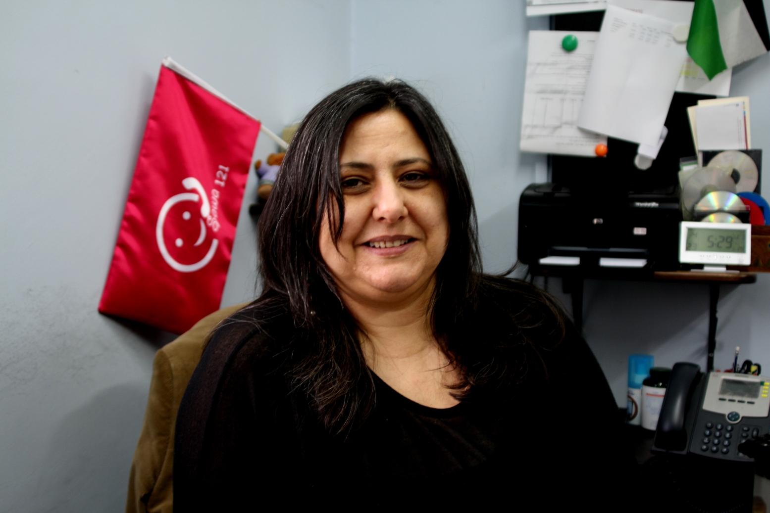 Ohaila Shomar, direttrice di SAWA (Foto: Rossana Zampini/Nena News)