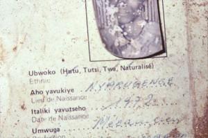 Carta d'identità rwandese