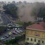 Cairo, bombe all'università