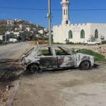 ISRAELE, estremisti di destra incendiano ingresso moschea di Um el Fahem