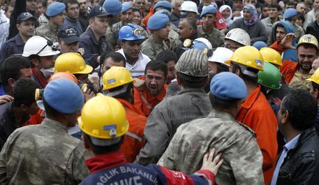 Mine explosion in Turkey
