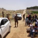 Hebron. Quattro ragazzine palestinesi detenute dalla polizia israeliana.