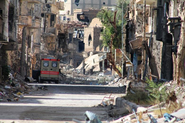 Deir ez-Zor, agosto2013 (foto: AFP/Ahmed Aboud)