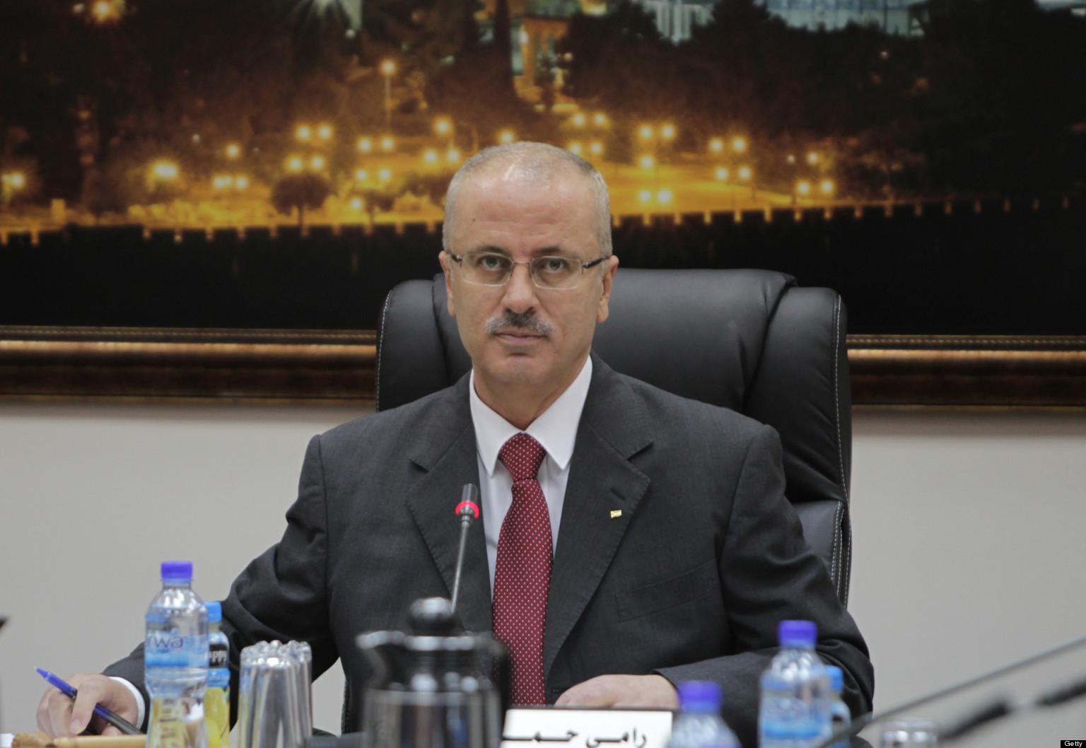 il premier incaricato Rami Hamdallah