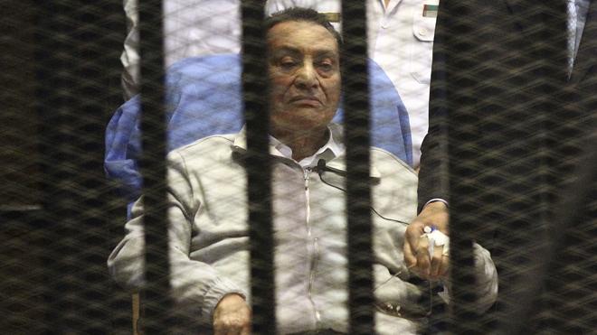 L'ex presidente egiziano Mubarak