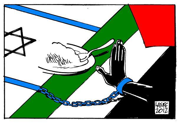 Una vignetta di Latuff