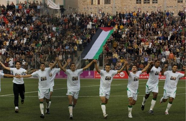 La Nazionale palestinese (AP Photo/Tara Todras-Whitehill)