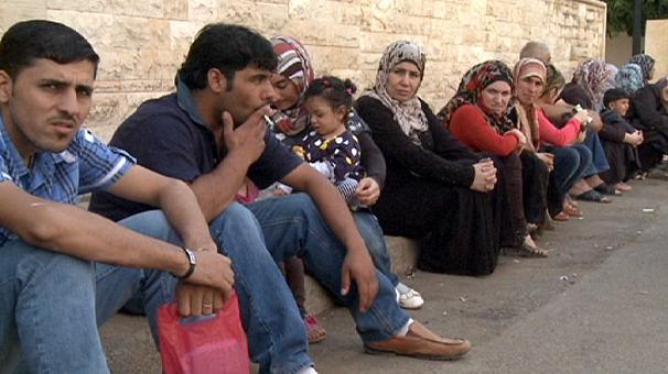Profughi siriani in Libano (Fonte: Euronews.com)
