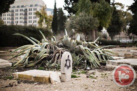 La tomba di Ezzedin al Qassam (foto di Maannews)