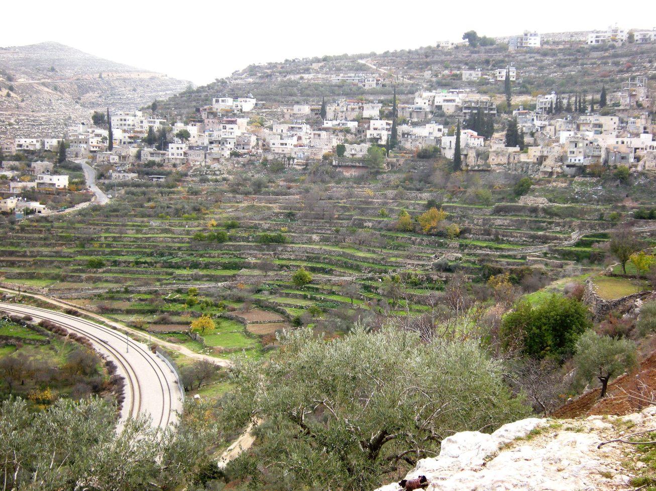 Il villaggio palestinese di Battir (Foto: Nena News)