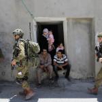 CISGIORDANIA. Oltre 200 palestinesi arrestati in 5 giorni