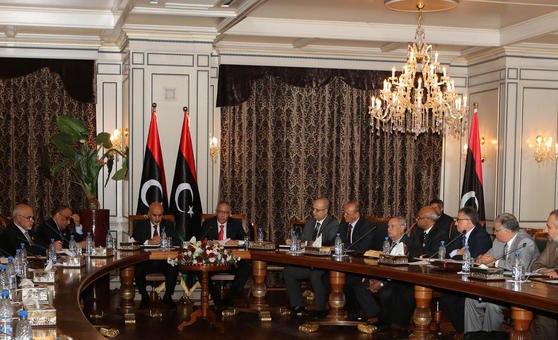 LIBYA-POLITICS-GOVERNMENT-CABINET