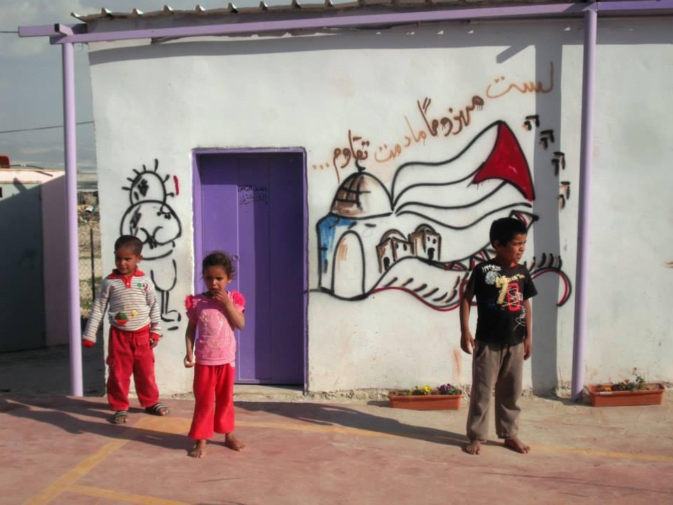 La scuola di Fasayel, Valle del Giordano (Foto: Chiara Cruciati)