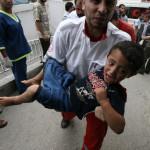 E' strage di civili palestinesi, colpite intere famiglie