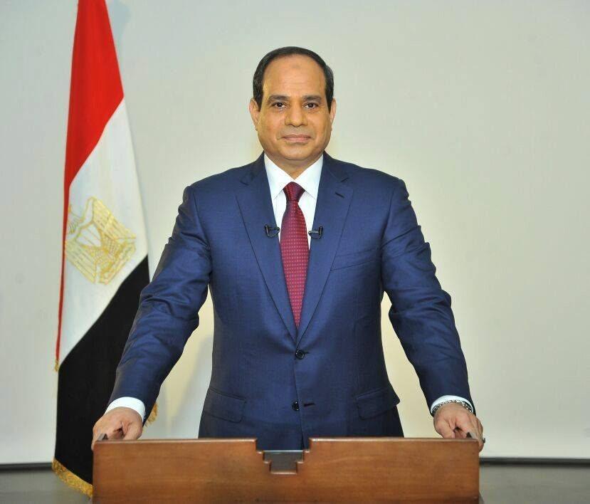 Il Presidente egiziano, Abdel Fattah al-Sisi