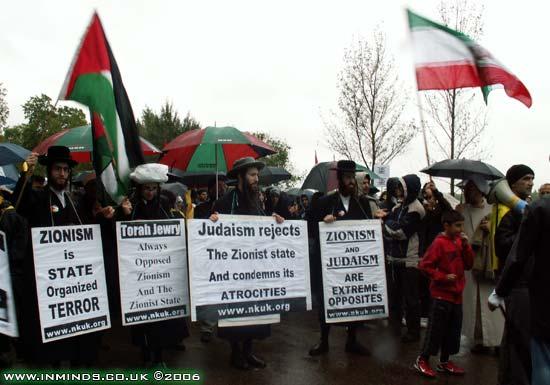 Manifestazione di ebrei ortodossi antisionisti (Naturei Karta)
