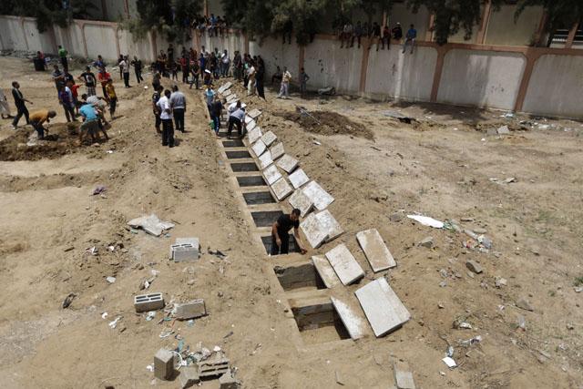 (Foto: AFP/MOHAMMED ABED)