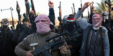 Miliziani dell'Isil a Fallujah