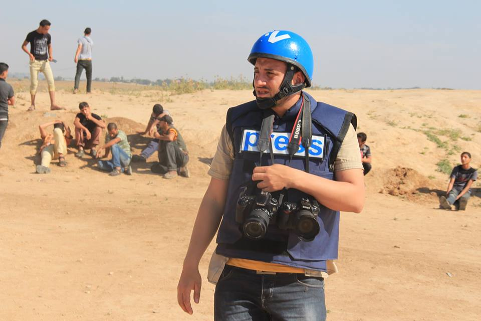 Il giornalista di Gaza Rami Rayan