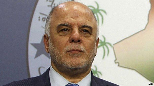 Il primo ministro iracheno al-Abadi