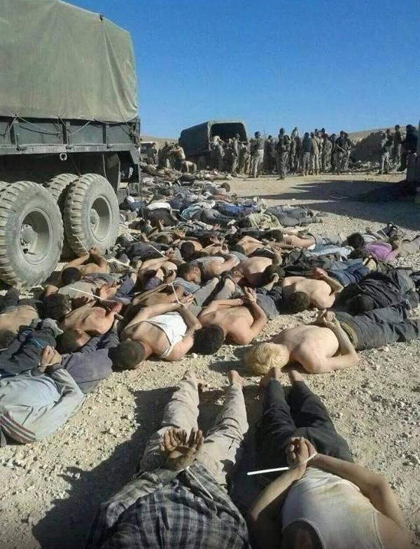 Un campo vicino ad Arsal ieri, 25 settembre (Fonte: facebook, Khalil Lemarekh)
