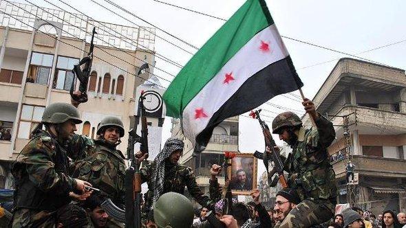 Membri dell'Esercito Libero Siriano