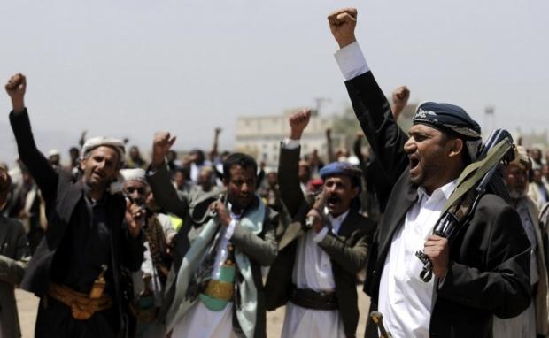 Manifestanti pro-Houthi