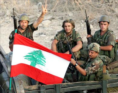 esercito libanese