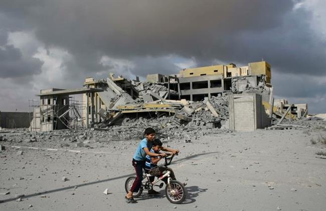 Macerie a Rafah (Foto: Reuters/Ibraheem Abu Mustafa)