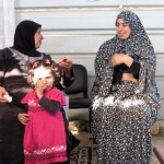 FOTO. Nabi Samuel, donne contro l'occupazione