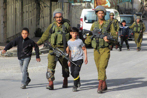 Palestinian children being arrested Mar 28 2013