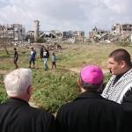Bagnasco a Gaza: «Vedo una terra sofferente, con tanta voglia di vivere»