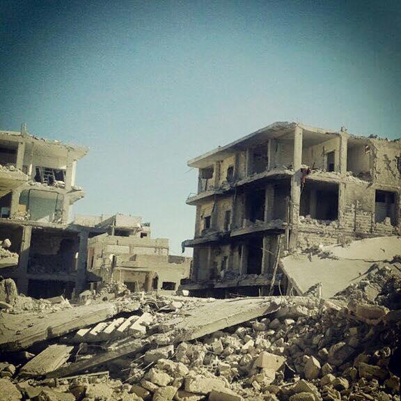 La città di Kobane (Foto: Federica Iezzi/Nena News)