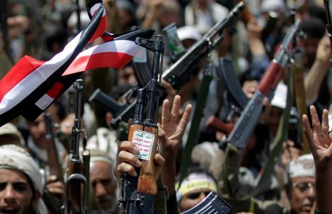 Sostenitori Houthi  a Sana'a (Foto: REUTERS/Khaled Abdullah)