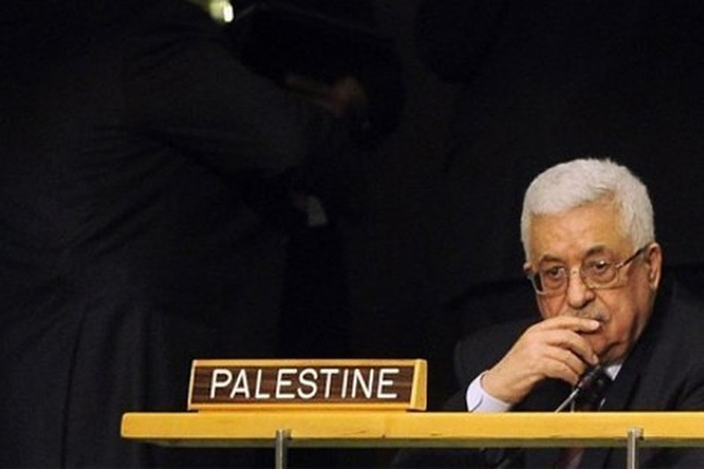 il presidente dell'Autorità nazionale palestinese (Anp) Mahmoud Abbas