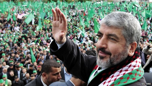 Hamas' leader Khaled Meshaal (Photo: Reuters)