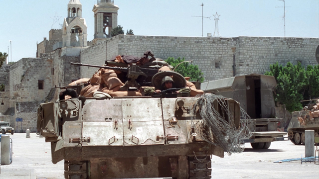 The siege on Nativity Church, 2002