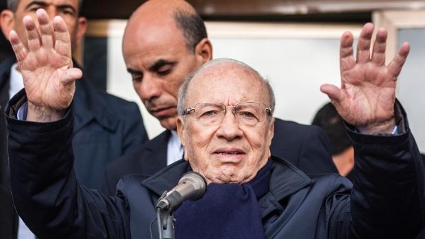 Il nuovo presidente tunisino, Essebsi (Foto: Ilyess Osmane/Associated Press)