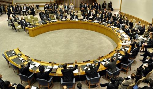 Il Consiglio di Sicurezza Onu