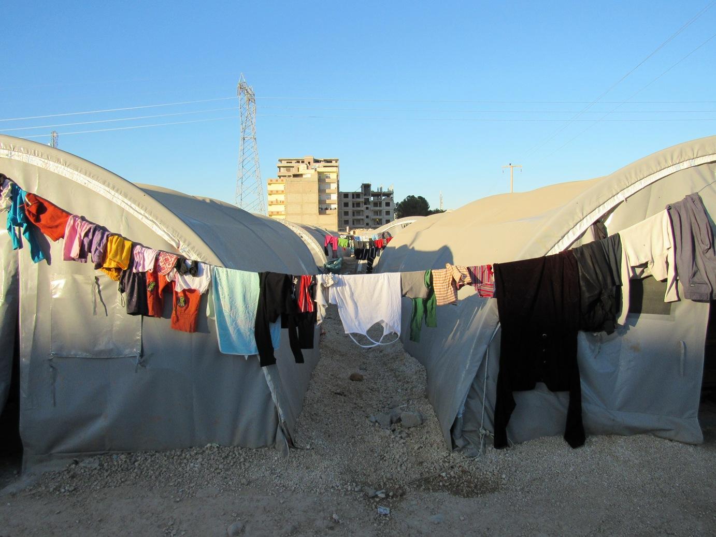 "Il campo profughi ""Kobane"" a Suruc (Foto: Chiara Cruciati/Nena News)"